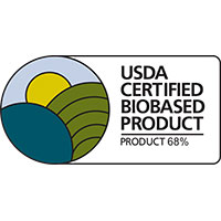 BIOBASED PRODUCT 68%